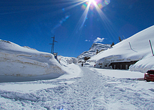 Passo Rolle - Neve a febbraio 2014